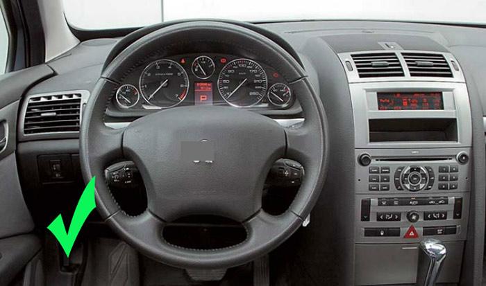 Exclusivecarauto 7 octacore android 6 0 4gb 32gb radio for Interior 407 coupe